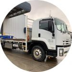 A truck which is ready to transport goods